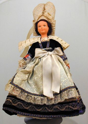 Rare Louis Vuitton Doll in Regional Costume