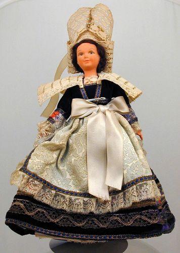 Rare Louis Vuitton Doll in Regional Costume