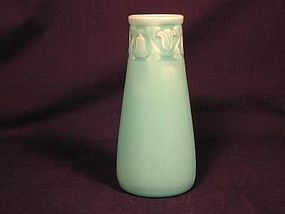 Rookwood Bellflower Vase in Matte glaze