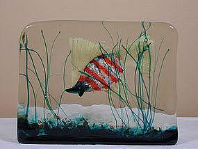 Cenedese Murano Aquarium Block