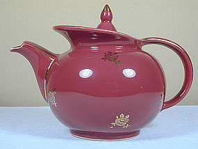 Windshield Teapot by Hall China