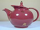 Windshield Teapot by Hall China