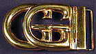 Gucci Signature Logo Belt Buckle