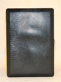 Vintage Dunhill Lizard Cigarette Case