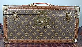 Louis Vuitton Train Case / Travel Trunk - NEVER USED!