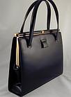 Lucille De Paris Leather Handbag - Classic