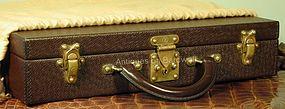 Louis Vuitton Diplomat Taiga Leather Briefcase