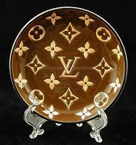 Louis Vuitton Trinket/Cigar Dish by Longwy Pottery
