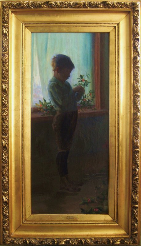 "Jean Mannheim (1863-1945) ""Boy Standing"""