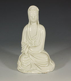 Blanc de Chine  Guanyin 17thC