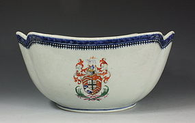 Chinese Armorial Bowl C1785