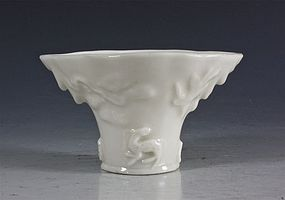 CHINESE BLANC DE CHINE LIBATION CUP L17THC