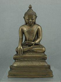 BURMESE SHAN BUDDHA 18THC
