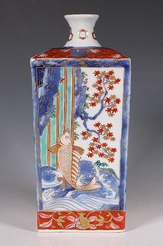 Japanese Imari Tokuri 19thC