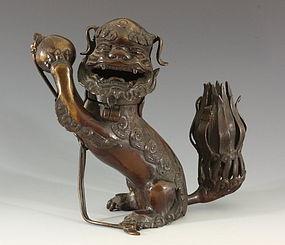 Chinese Bronze Incense Burner 17thC