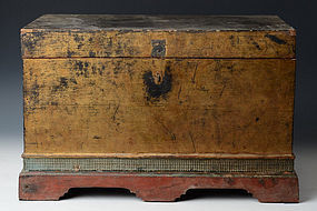 19th C., Burmese Wooden Chest