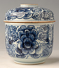 Camau Shipwreck, Chinese Blue and White Covered Bowl