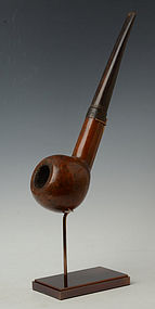 Rare and Large Burmese Wooden Pipe