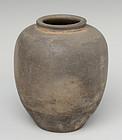 Han Chinese Pottery Jar