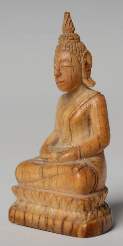 Thai Ivory Seated Buddha