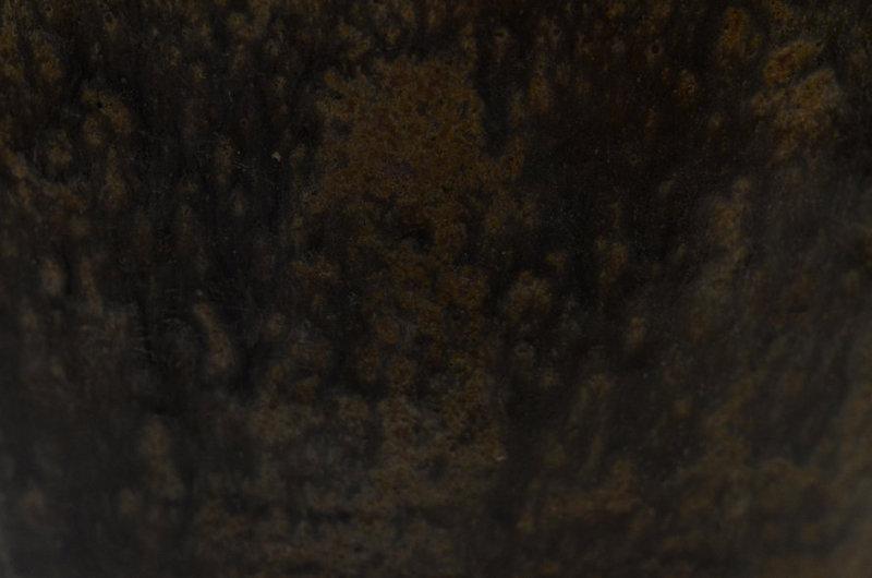 Khmer Dark-Brown Glazed Pottery Jar