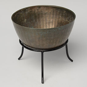 12th Century, Angkor Vat, Khmer Bronze Bowl