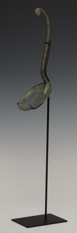 500 B.C., Dong Son, Khmer Bronze Ladle