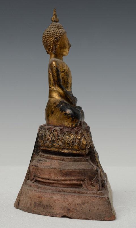 18th Century, Ayuthaya, Thai Seated Buddha