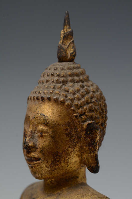 18th Century, Ayuthaya, Thai Seated Buddha