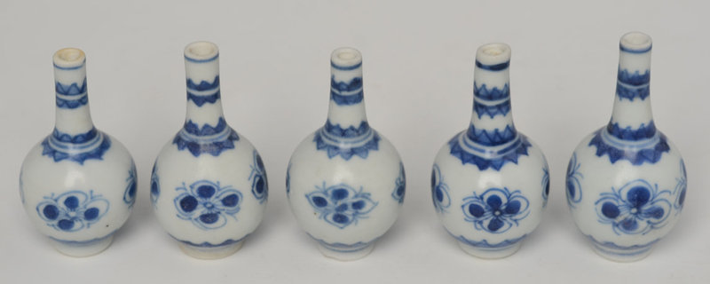 Early 18th C., Chinese Blue and White Miniature Jarlet