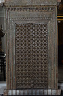 19th C., Indian Wooden Door Set with Bronze Decoration