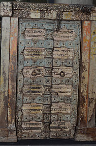19th Century., A Set of Indian Wooden Doors