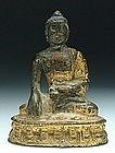 A Gilt-Bronze Figure of A Buddha