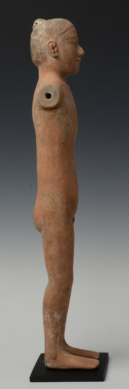 Han Dynasty, Chinese Pottery Stick Man