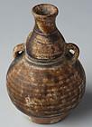 14th - 16th C., Sukhothai Double Gourd Vase