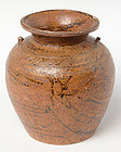 Sukhothai period, Sankampaeng Brown Glazed Jar