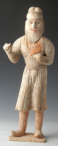 Tang Dynasty, Stunning Foreign Groom with Oxford Test
