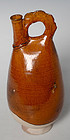Liao Dynasty, Chinese Porcelain Vase with Amber Color