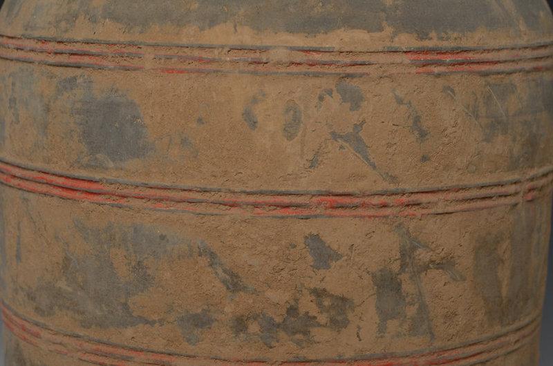 Han Dynasty, Chinese Pottery Granary Jar