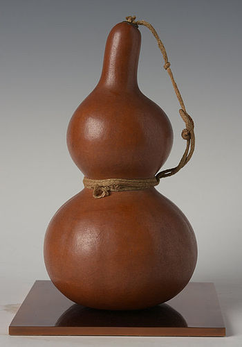 Mid-20th Century, Showa, Japanese Sake Fruit Container