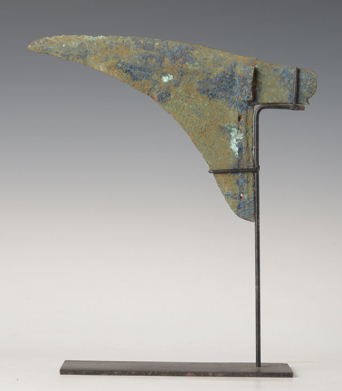 Han Dynasty, Chinese Bronze Knife Weapon