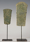 Over 3,000 Years, A Pair of Dong Son Bronze Cracking Tools