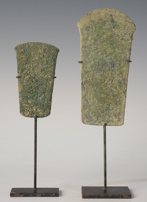 Over 3,000 Years, A Pair of Dong Son Bronze Axes