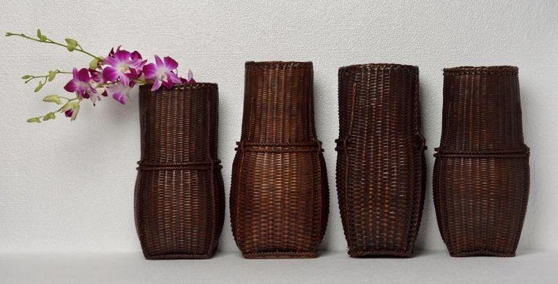 20th Century, Laos Bamboo Baskets