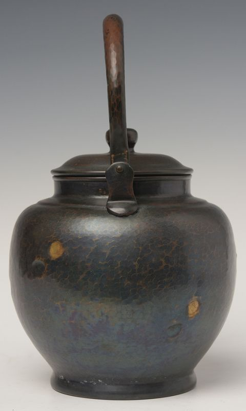 Early 20th Century, Showa, Japanese Bronze Teapot