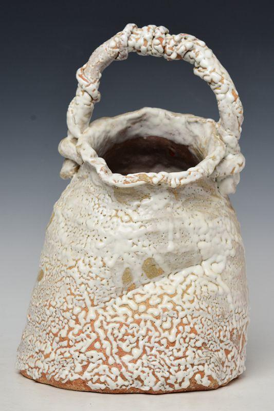 Japanese Ceramic Creamy Vase