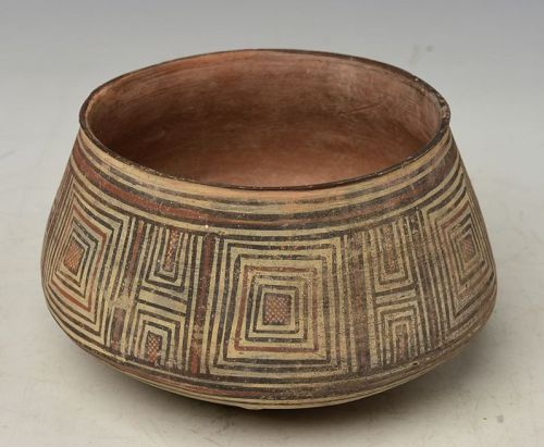 2,000 Years, Afghanistan Painted Pottery Bowl