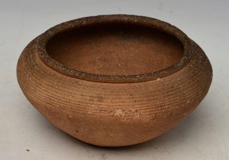 15th Century, Thai Pottery Shallow Bowl