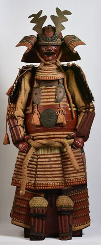 Early 20th Century, Showa, A Set of Japanese Samurai Armor