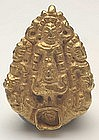 A Gold Costume Decorative Item